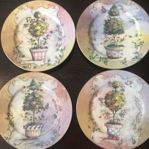 Henriette Porcelain Collection Salad/Dessert plate